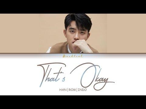 D.O. (디오) - That's Okay (괜찮아도 괜찮아) (HAN/ROM/INDO Lyrics/가사)