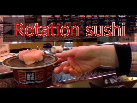 【Cool Japan】belt-conveyor sushi