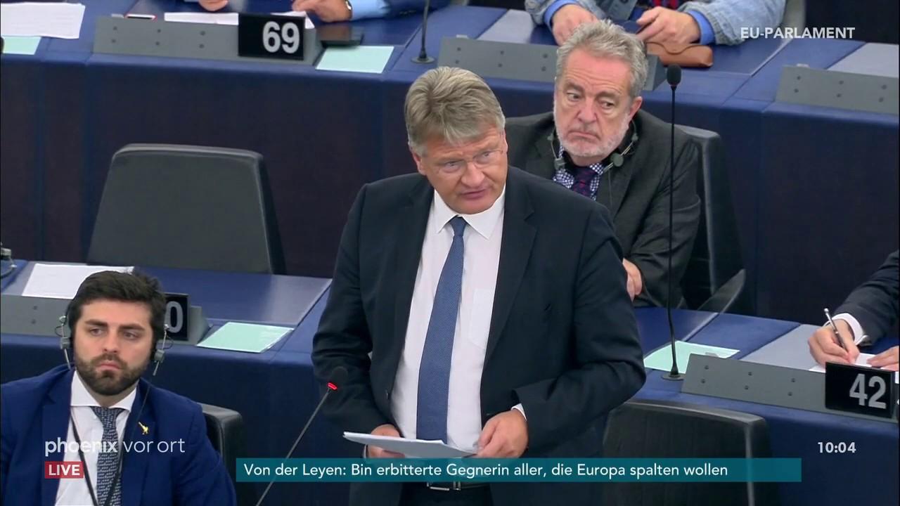 Download Jörg Meuthen zur Kandidatur Ursula von der Leyens zur EU-Kommissionsspitze am 16.07.19