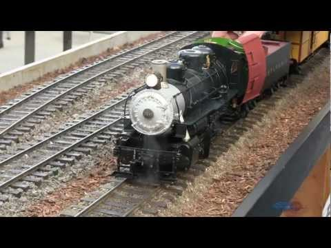 Pennsylvania Live Steam Model Train