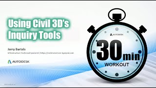 Using Civil 3D's Inquiry Tools to establish Who, What and Where