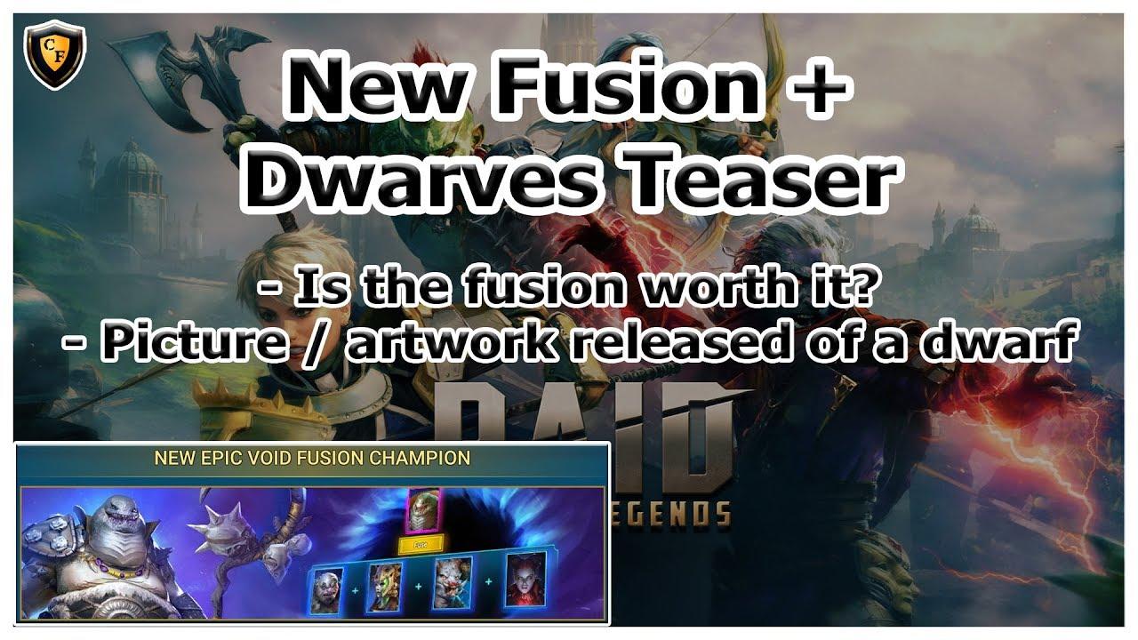 RAID Shadow Legends | New Epic Fusion | Dwarves Teaser