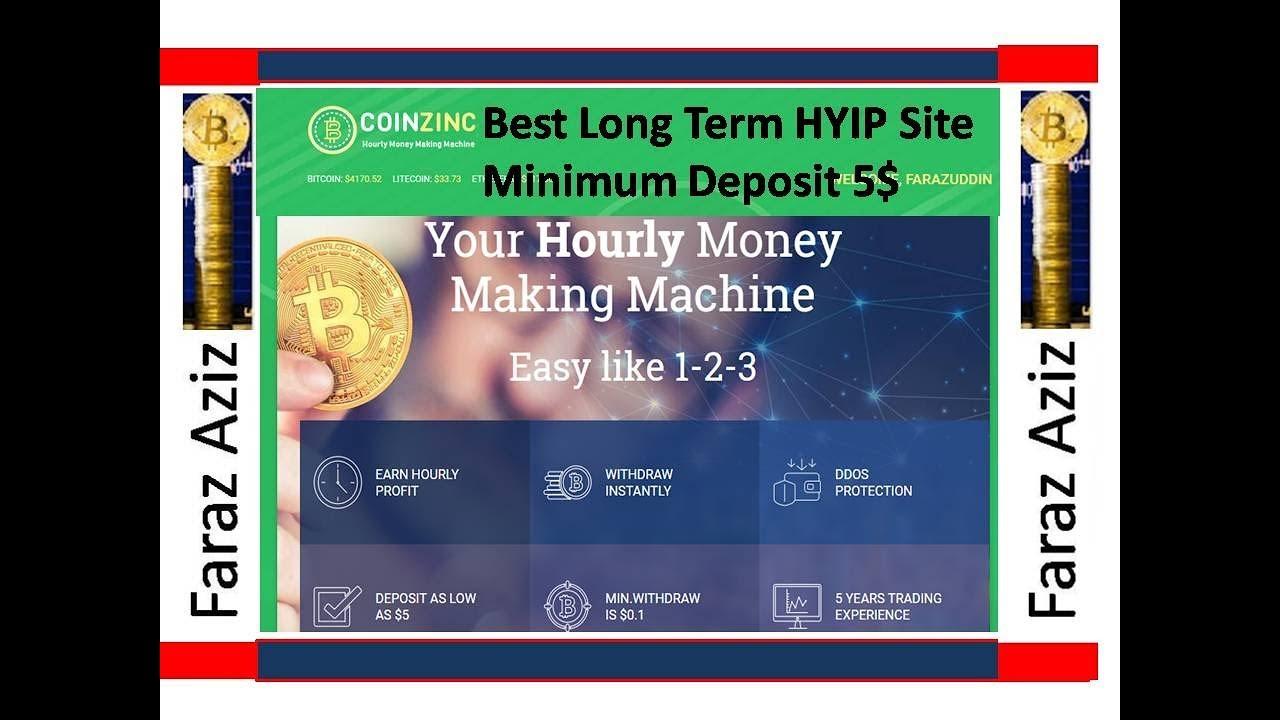 Coinzinc Best HYIP Long Term website Urdu II Hindi