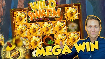 BIG WIN!!! WILD SWARM Huge win - Bonus compilation - Casino Games - free spins (Online slots)