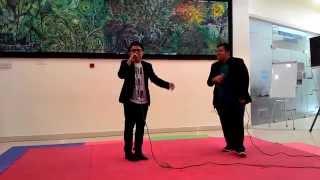 Video Kun Anta - Humood AlKhudher (Cover by Reyd ft Amyzee) download MP3, 3GP, MP4, WEBM, AVI, FLV Oktober 2018