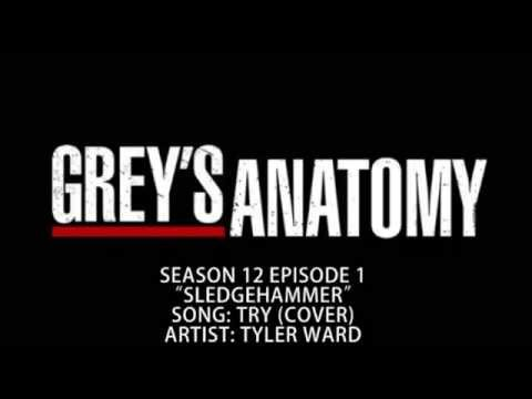 Grey's Anatomy S12E01 - Try (Cover) by Tyler Ward