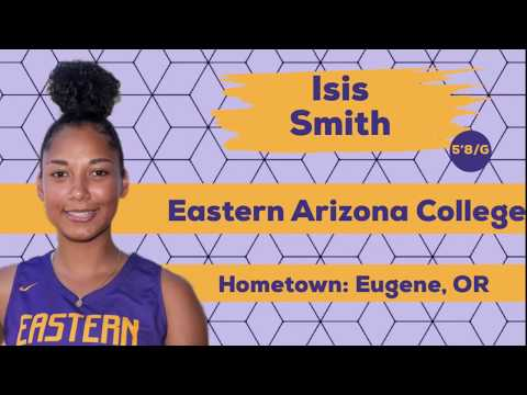 Isis Smith | 5'8/CG/2021 | Eastern Arizona College