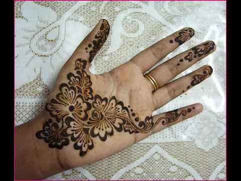 Simple Mehndi Designs For Hands 2017 YouTube