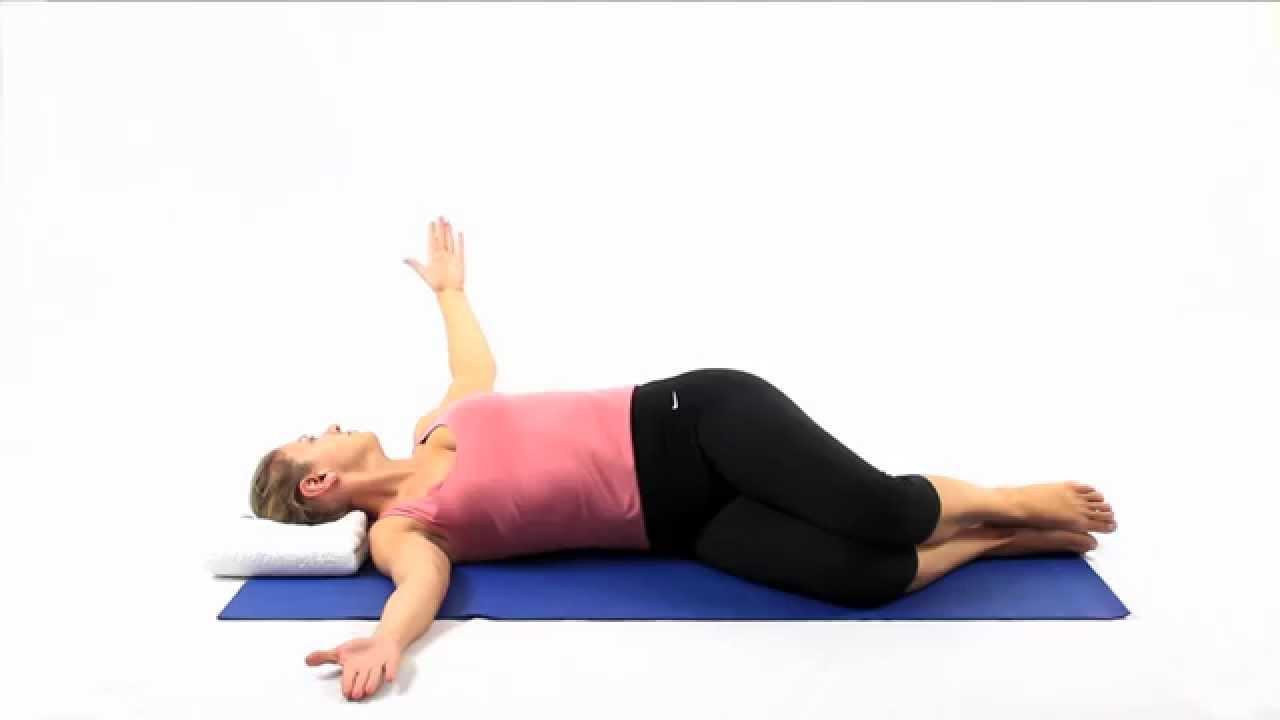 Pilates Arm openings - YouTube