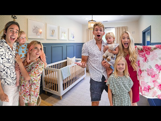 The LaBrant Fam's Chic Adventure-Themed Nursery REVEAL!