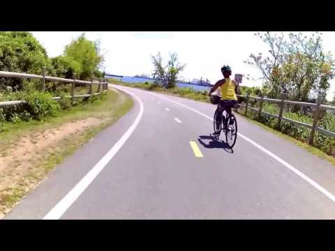 East Bay Bike Path Virtual Cycling May 2016 Southbound [Faster]