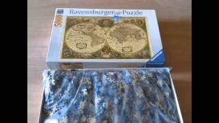 5000 pc Antique World Puzzle