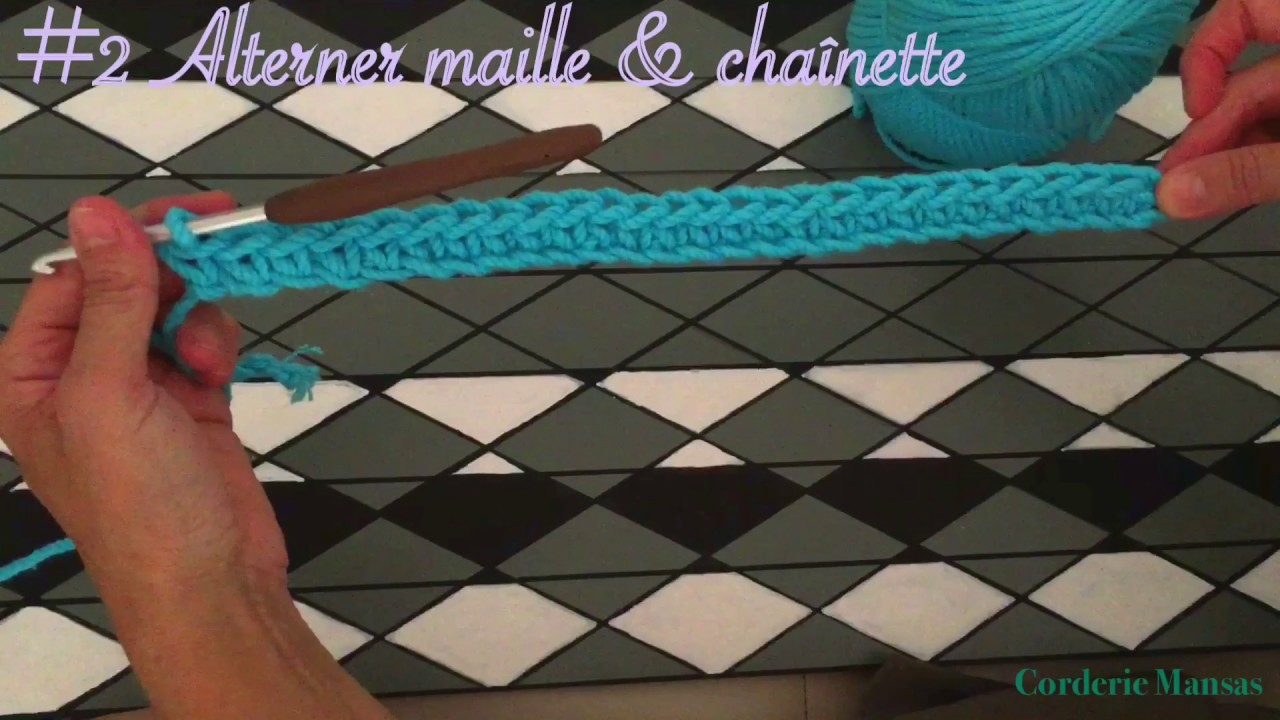 Tuto sac boho chic au crochet - YouTube