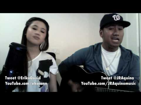 """""""Hey, Soul Sister"""" Train COVER by ERIKA DAVID AND J.R.A."""