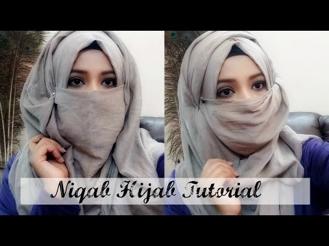 Niqab Tutorial very Easy to wear (hijab Style)India/Bangladesh/Pakistan||Fashion With Modesty||
