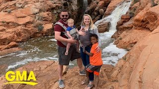 Couple learns adopted son's birth mom is having another baby, so they adopt her too | GMA Digital