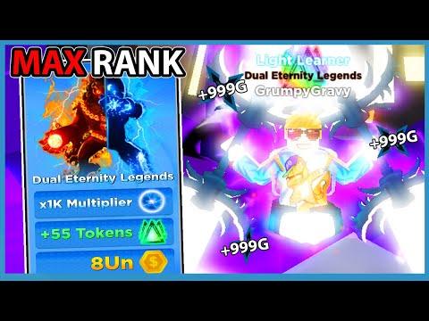 Unlocked Dual Eternity Legends Evolution & Every Power in Roblox Ninja Legends 2