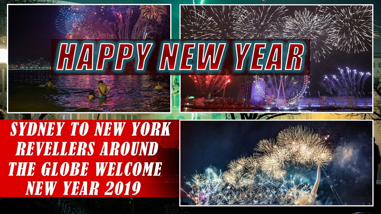Sydney To New York, Revellers Around The Globe WELCOME New Year 2019 With Fireworks And Light Shows