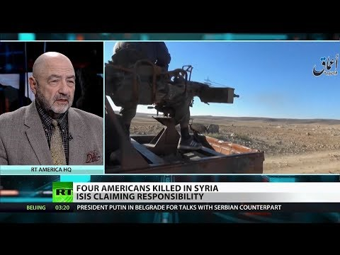 RT America: ISIS Attacks as US Troops pull out of Syria