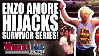 Enzo Amore HIJACKS WWE Survivor Series 2018! | WrestleTalk News Nov. 2018