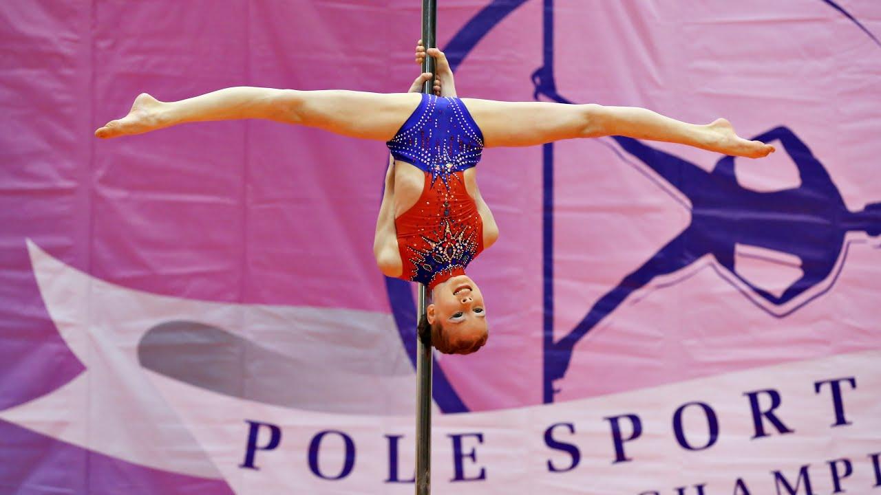 Awesome Pole sport kids perfomance 10 years old Russian championship | Спортивный пилон дети [4:19x720p]