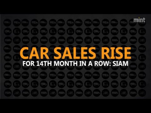 Car sales rise for 14th month in a row: Siam