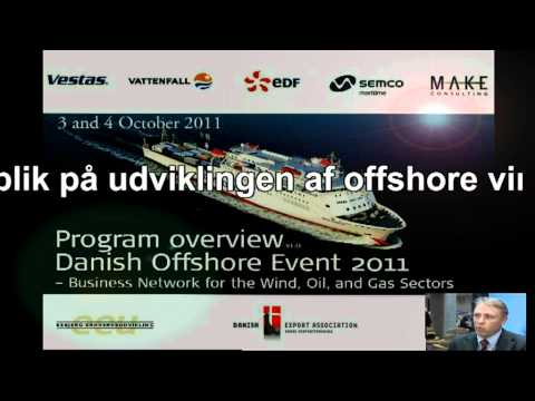 Danish Offshore Event 2011 - Business Cruisetogt Conference - Energimetropolis Esbjerg - Vestas.MP4