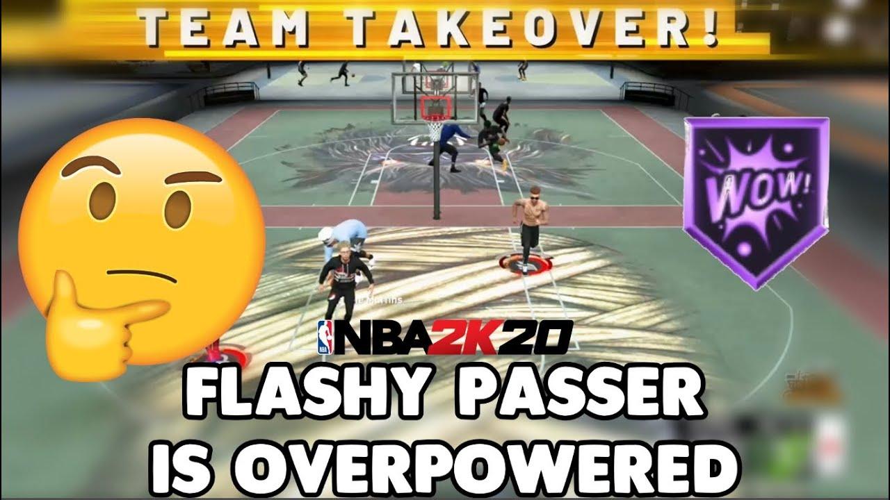 Flashy Passer Badge - NBA 2K20 Badges ...