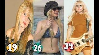 Orianthi Transformation From 19 To 34 Years OLD