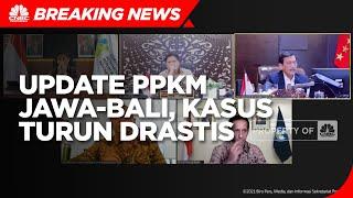 Update PPKM Jawa-Bali, Luhut: Kasus Covid-19 Turun Drastis
