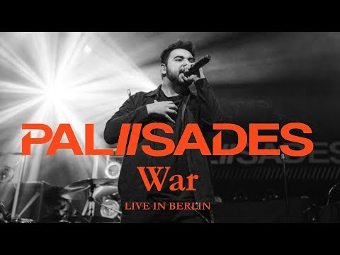 """PALISADES - """"War"""" live in Berlin [CORE COMMUNITY ON TOUR]"""