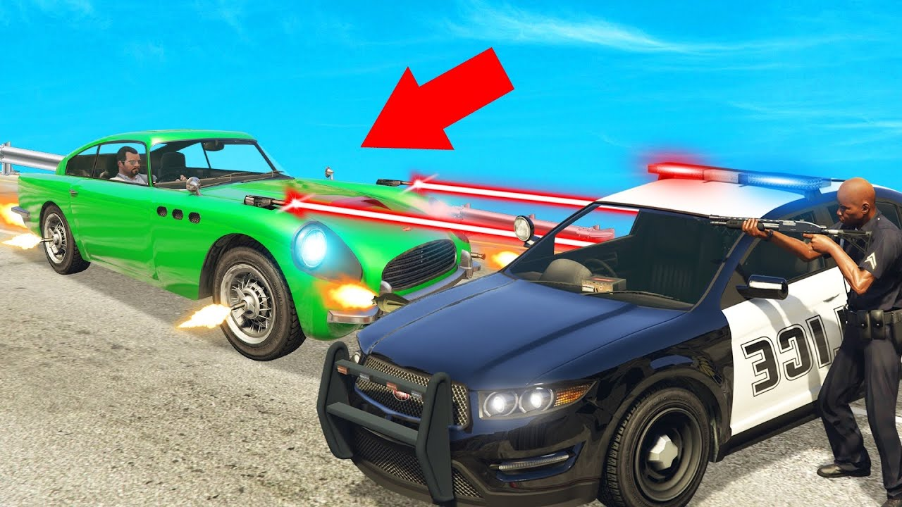 *NEW* JAMES BOND CAR In GTA 5! (OVERPOWERED) thumbnail