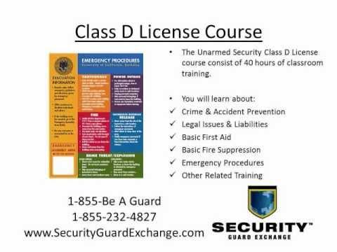 Security guard job interview questions