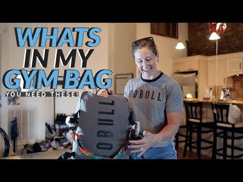 WHAT'S IN MY GYM BAG? WHAT YOU NEED TO HAVE FOR THE GYM EVERYDAY!