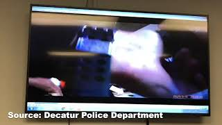 Decatur Police release body cam footage of store owner being punched by police