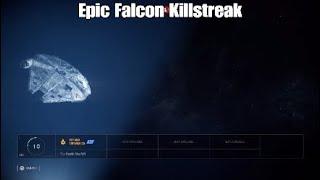 EPIC Millennium Falcon Killstreak - Star Wars Battlefront ll