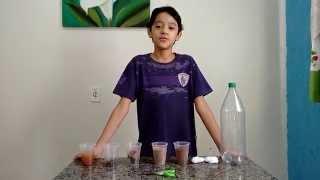Filtro caseiro do garrafa pet, como fazer