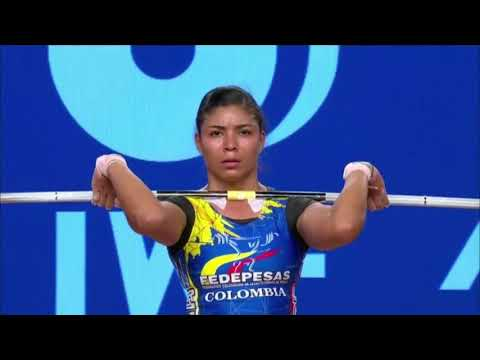 Women's 58 kg A Session Clean and Jerk - 2017 IWF Weightlifting World Championships (WWC)