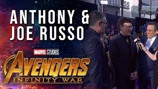 The Russo Brothers And Jeffrey Ford Live At The Avengers: Infinity War Premiere