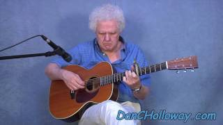 Sounds of Silence - Acoustic Fingerstyle Guitar - Simon & Garfunkel