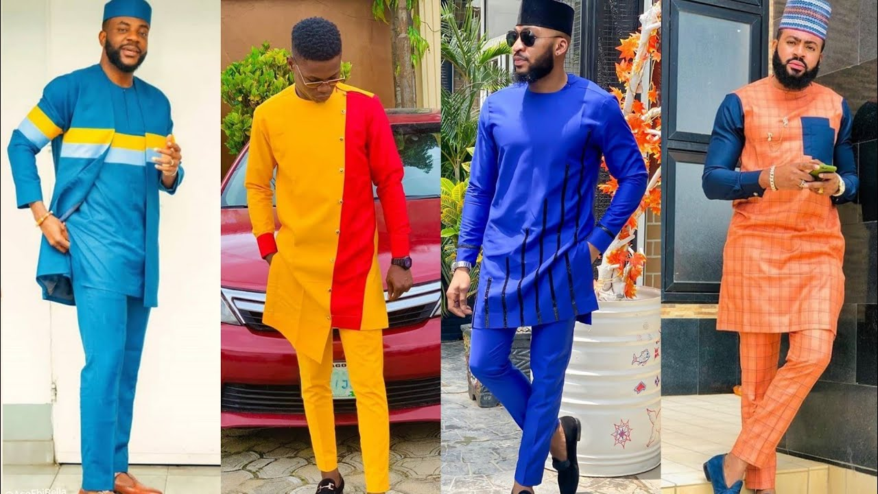 CLASSIC AFRICAN MEN FASHION COLLECTION #SENATOR, KAFTAN AND ANKARA STYLES  FOR MEN - YouTube