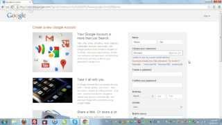 How to create NEW Gmail, Google Plus and Youtube Account? by TJune.com