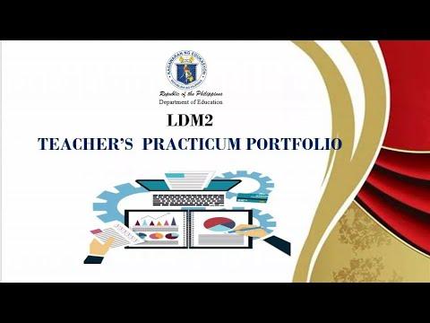 Download LDM2 Practicum Portfolio for Teachers SY. 2020-2021