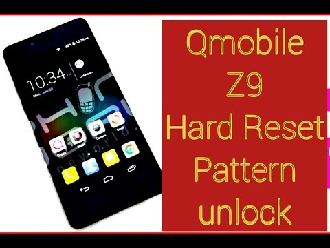 how to hard reset Qmobile Noir Z9 Pin Pasward Pettern Unlock