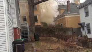 Belmont Street, Somerville House Fire - Dec 16, 2014