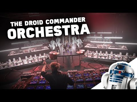 Watch This Awesome Droid Orchestra! - LEGO Star Wars™ BOOST Droid Commander