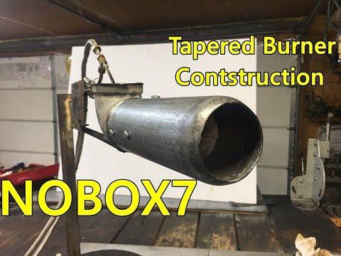 Waste oil burner  Flame nozzle Design #1 ( RE UPLOAD)