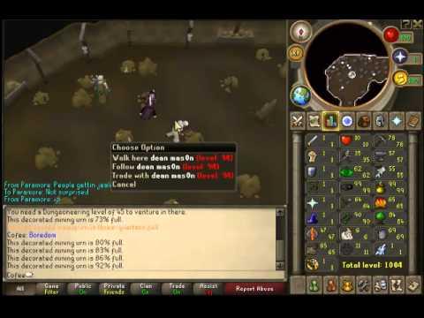 Runescape Update! - Skilling Urns - Mining