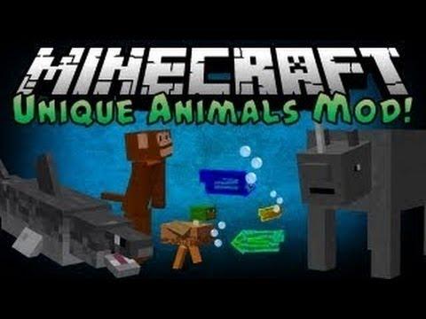 Minecraft 1.11 Mods   Unique Animals Mod (Minecraft Mod ...