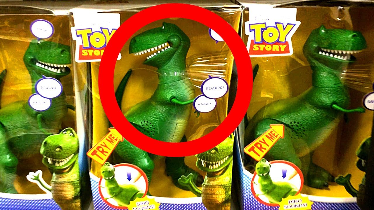 Toy Story Rex Dinosaur Toys Come To Life Amp Woody Purchased